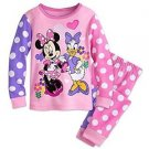 MINNIE MOUSE And DAISY DUCK Girl's Size 2, 3 Or 4 Pajama Pants Set