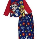 Paw Patrol Boy's Size 4 Marshall and Rubble Fleece Pajama Set