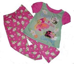 Girl's Size 5T Don't Bug Me Ladybug Pajama Set