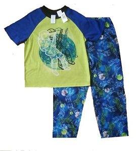 Boy's Size 5/6 Astronaut Space Rock Guitar Pajama Pants Set