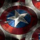 MARVEL Boy's Size 10 Avenger Captain America Costume 4-Piece Pajama Set