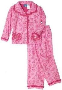 DR. SEUSS Toddler Girl's Size 3T Pink Fish Coat Pajama Pants Set