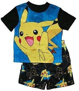 Pokemon Boy's Size 4 Pikachu Pajama Shorts Set