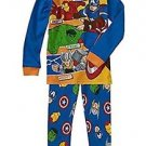 MARVEL AVENGERS Boy's Size 5T Cotton Pajama Set, Hulk, Thor, Ironman