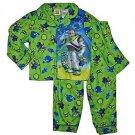 TOY STORY Buzz Lightyear Boy's 3T Flannel Coat Pajama Set, PJ'S