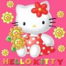 Sanrio HELLO KITTY Stars Girl's Size 4 Pink Fleece Pajama Pants Set