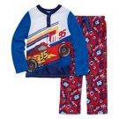 Disney Pixar Cars Size 3, 4 OR 7/8 Lightning McQueen Jersey, Fleece Pajama Set