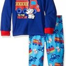 Toddler Boy's Size 3T OR 4T Firetruck Rescue Dalmatian Jersey Pajama Set