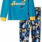 Toddler Boy's Size 3T OR 4T Construction Vehicles Built Tough Jersey Pajama Set