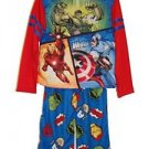 MARVEL Avengers Boy's Size 8 Polyester Jersey Fleece Superhero Pajama Set