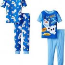 Frozen's Olaf 'So Hot I'm Cool' 4-piece Cotton Size 4 Pajama Set
