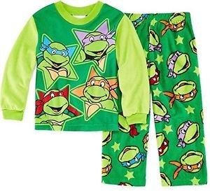 Teenage Mutant Turtles Boy's 5T Fleece Pajama Pants Set