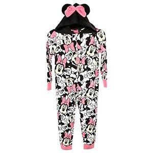 MINNIE MOUSE Girl's Size 4 Hooded Fleece Blanket Sleeper