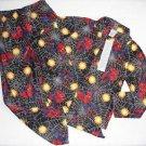 SPIDER-MAN Marvel Boy's Size 8 Print Flannel Coat Pajama Pants Set
