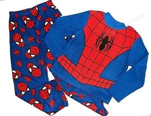 SPIDER-MAN Marvel Boy's Size 8 Fleece Pajama Pants Set