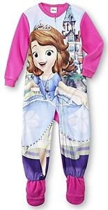 Disney 4T Sofia the First Toddler Girl's Fleece Footed Pajama Sleeper, PJ'S