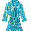 Disney Princess Tinkerbell Girl's 7/8 OR 10/12 Plush Bathrobe Fleece Robe