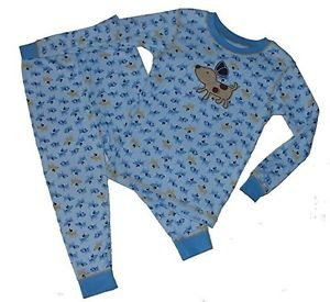 CARTER'S Boy's 24 Months Puppy Dog Print Cotton Pajama Set