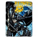 BATMAN GOTHIC KNIGHT Super Plush Fleece Blanket Throw