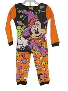 Baby Girl's Minnie Mouse Witch 24 Months Halloween Pajama Set
