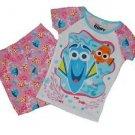 Disney Pixar FINDING DORY Marlin Girl's 5T Cotton Pajama Shorts