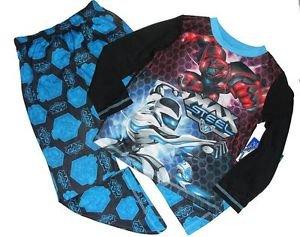 MAX STEEL T.U.R.B.O. Boy Miles Dread Boy's Size 4/5 Pajama Set, PJ'S