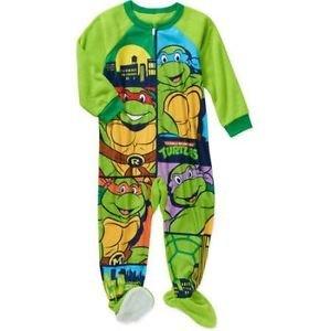 TEENAGE MUTANT NINJA TURTLES Boys 3T Fleece Pajama Sleeper