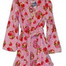 Girl's Size 3T OR 4T Pink Fleece STRAWBERRY SHORTCAKE Bathrobe, Robe
