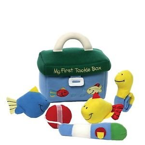 Gund BabyGund MY FIRST TACKLE BOX Fishing Plush Playset