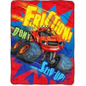 BLAZE and the Monster Machines Plush Fleece Blanket Throw