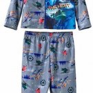 Disney Planes Dusty, Windlifter, Blade Boy's 3T Gray Flannel Coat Pajama Set