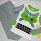 DISNEY TOY STORY Boy's Size 5 BUZZ LIGHTYEAR Full Costume Graphic Pajama Set