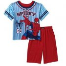 Marvel Boy's SIze 8 Spider-Man, SPIDERMAN Pajama Shorts Set, PJ'S
