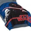 """STAR WARS KYLO REN, STORMTROOPERS Plush Fleece Blanket, 62"""" X 90"""" Twin Bed"""