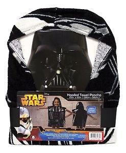 Star Wars Darth Vader Children's Hooded Bath Beach Towel