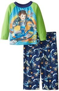 Disney Toddler Boy's 3T Miles From Tomorrowland Jersey Let's Rocket Pajama Set