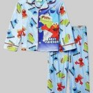 SESAME STREET BEST FRIENDS ELMO COOKIE, OSCAR Size 4T Pajama Set
