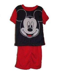 DISNEY MICKEY MOUSE Boy's 18 OR 24 Months Pajama Pants Set