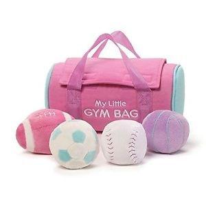 Gund BabyGund MY FIRST GYM BAG Pink Plush Playset