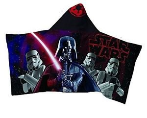 Star Wars Darth Vader Stormtrooper Children's Hooded Bath Beach Towel