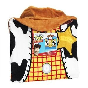TOY STORY WOODY Children's Hooded Terry Cloth Towel Bath Wrap