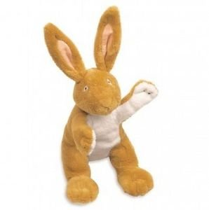 """GUESS HOW MUCH I LOVE YOU Bean Bag NUTBROWN HARE, 8"""" Plush Bunny"""
