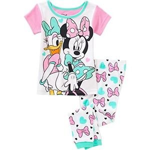 DISNEY MINNIE MOUSE And DAISY DUCK Girl's 2T, 3T, 4T OR 5T Pajama Pants Set