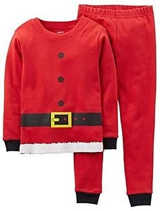 CARTER'S 3T, 4T OR 5T CHRISTMAS Holiday SANTA CLAUS Suit Pajama Pants Set