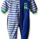 Toddler Boy's 3T Mommy's Big Guy Dinosaur Fleece Footed Pajama Sleeper