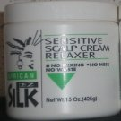 African EZ Silk Sensitive scalp Cream Relaxer 15 oz