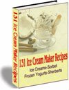 130+ Ice Cream Sorbet Frozen Yogurt Recipes eBook