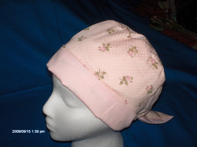 Calicomaisey wants to sew scrub caps for you Pixie  LITTLE PINK ROSEBUDS LITTLE PINK ROSEBUDS