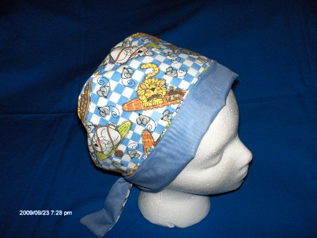 Surgical Scrubs Caps  Hats For Women Pixie Cap Ladies  SLEEPING KITTIES