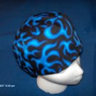 SURGICAL,MEDICAL,DOCTOR, SCRUB HAT, CAP,MEN BLACk AND BLUE